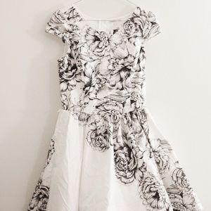 A-Line Floral Charlotte Russe Dress